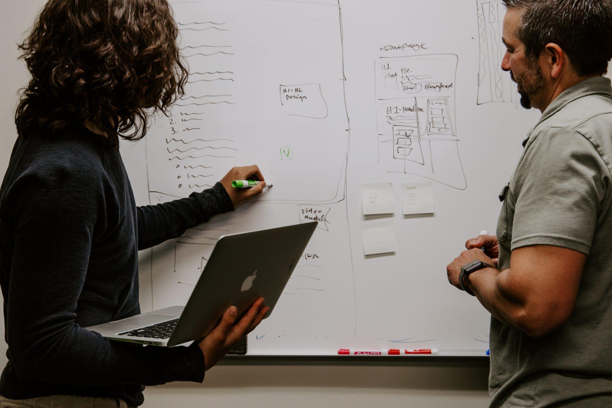 Whiteboard tavle – til jobbet og klasseværelset