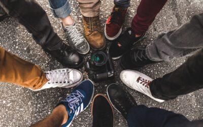Find sneakers til mænd til en hver lejlighed